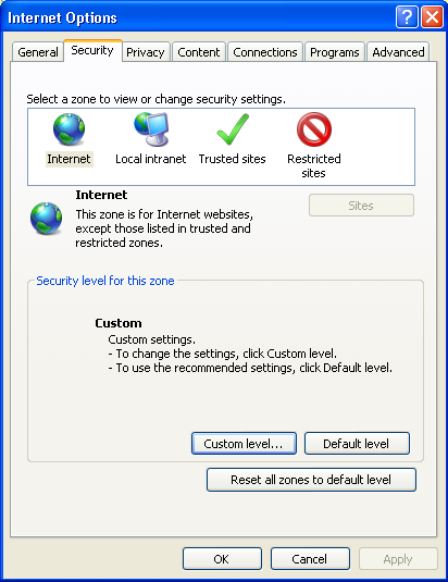 IE浏览SSL加密https网站的设置