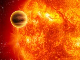 系外行星步入生命终点的景象(图)