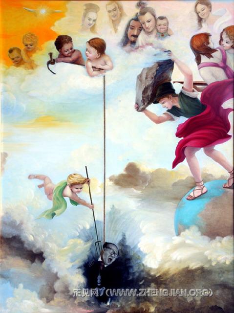 美展作品:《天使的审判》