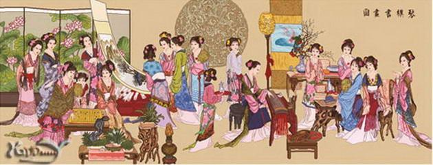 漫谈琴棋书画的文化意涵