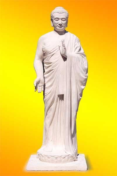 美展作品:《佛像》