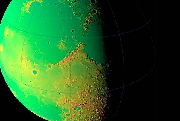 美太空总署(NASA)最新发布高清月球照片(图)