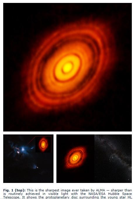 行星摇篮影像 科学家拍到了