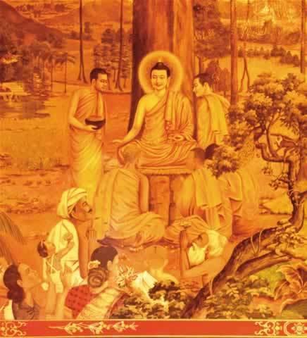释迦牟尼佛涅盘时对末法末劫的预言(图)