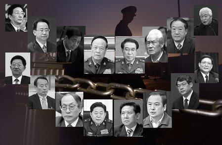 荒淫腐败  上千落马中共官员8成患性病(图)