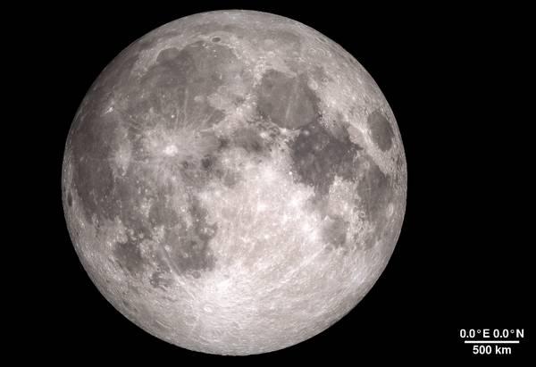 NASA发布4K超高清月球影片