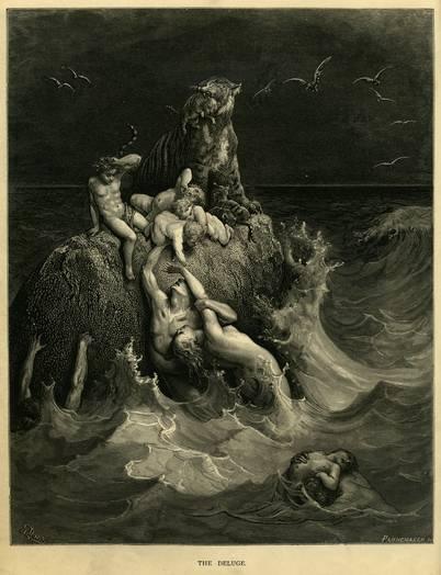 史前人类毁灭于大洪水并不只是神话传说