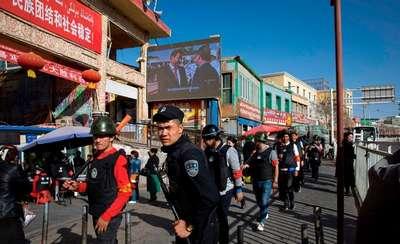 中共铁腕打压   新疆维吾尔再教育营惨况曝光
