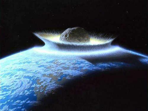特异功能与科学:史前小行星撞地球,恐龙灭绝与冰河时期