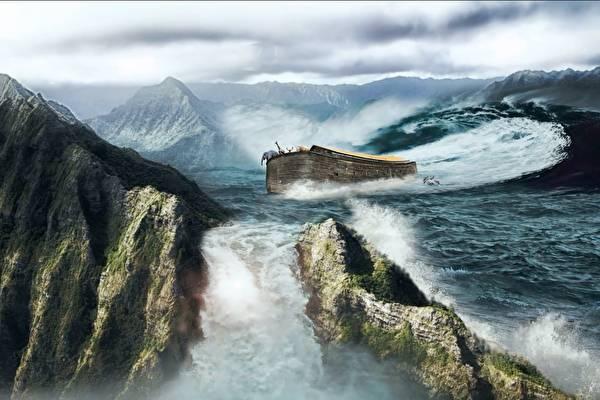 上古大洪水找到证据,印证大禹治水传说