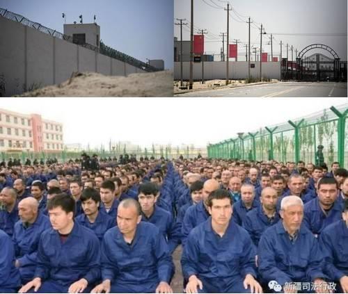 """新疆阿克苏""""第一再教育营""""传出至少150人丧生"""