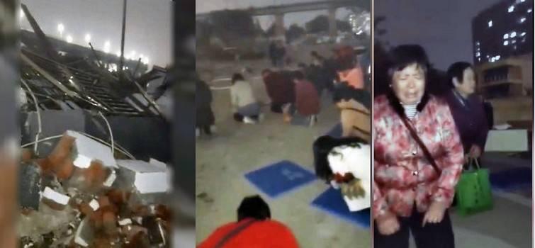 中共扯下遮羞布:南京千人官办教会遭强拆 信徒受伤