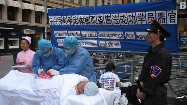 掩盖大量活摘黑幕!黄洁夫称2023中国器官移植第一
