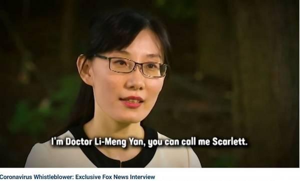 阎丽梦指控中共故意释放病毒  下周将公布病毒起源报告