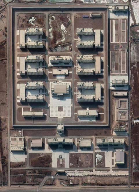 澳智库:新疆拘留营至少380个,分4级监禁