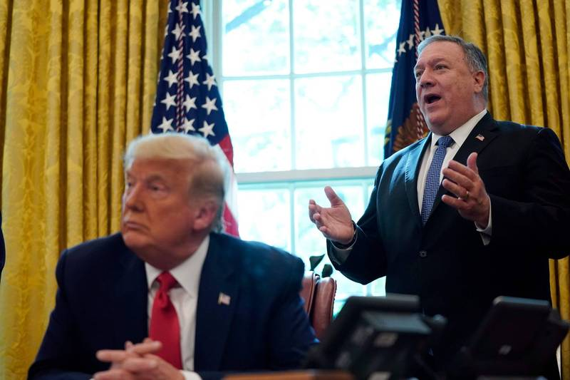 美国务卿:川普政府将顺利进入第二任