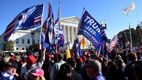 美最高法院宣布:4名保守派大法官管辖关键摇摆州