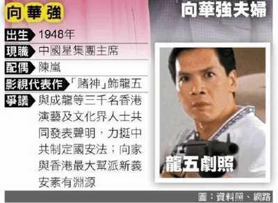 """向华强父子依亲居留台湾梦碎   以""""国安理由""""不准"""