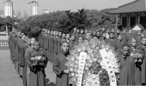 怪癫!中共组织神父、修女、僧侣、道士清明祭中共烈士