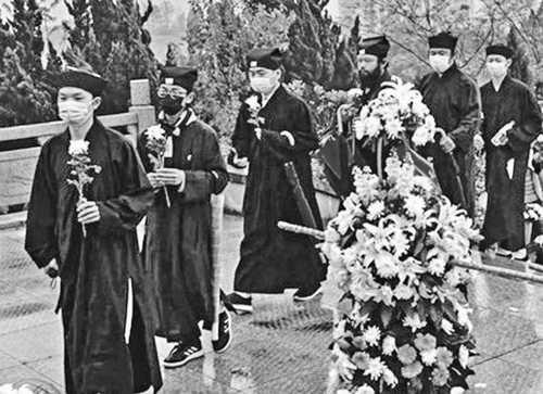 怪癲!中共組織神父、修女、僧侶、道士清明祭中共烈士
