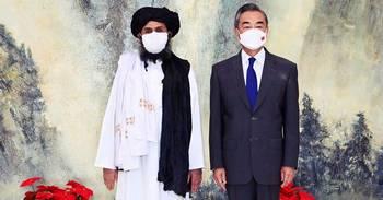中共友好阿富汗塔利班的目的是什么