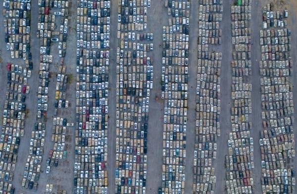 鄭州4000輛泡水車空拍照曝光  死亡人數被掩蓋